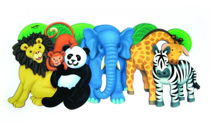 40177 PUZZLE WILD ANIMALS 30 PCS