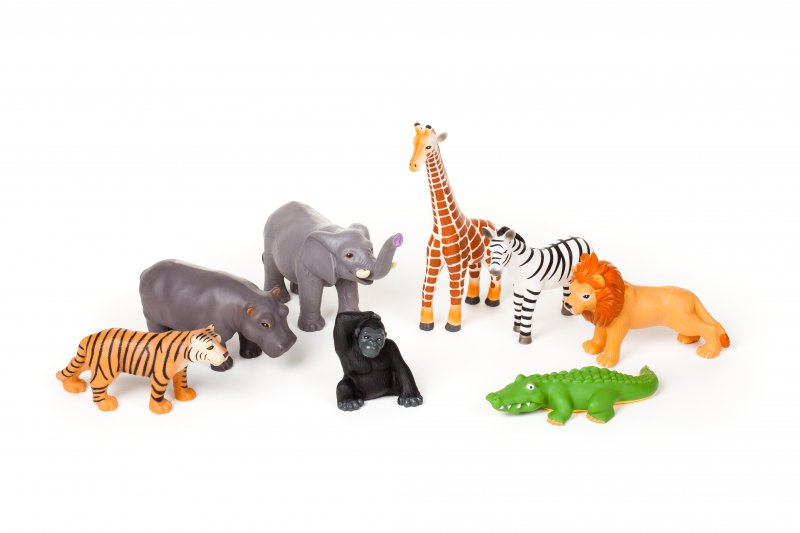 40310 WILD ANIMALS SET 8 PIECES
