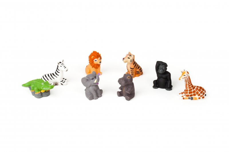 40317 WILD ANIMALS FINGER PUPPETS