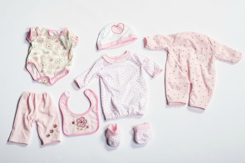 40435 SET 3 GIRL BODYSUIT OUTFITS