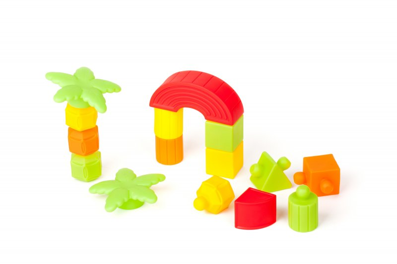 40455 RUBBER BLOCK 26 PIECES