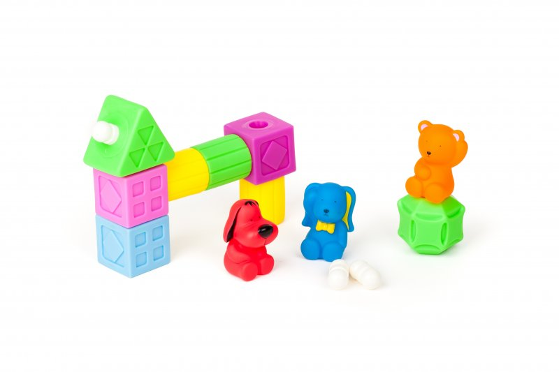 40459 RUBBER BLOCK GEOMETRIC SHAPES