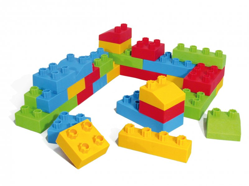 41010 SOFT BUILDING BLOCKS SET 32 pieces