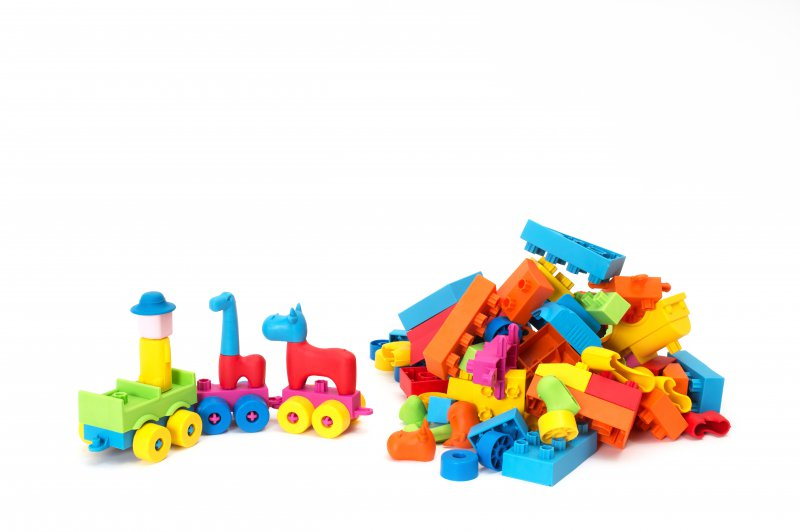 41013 SET ASSORTED SOFTCUBES 106 pieces