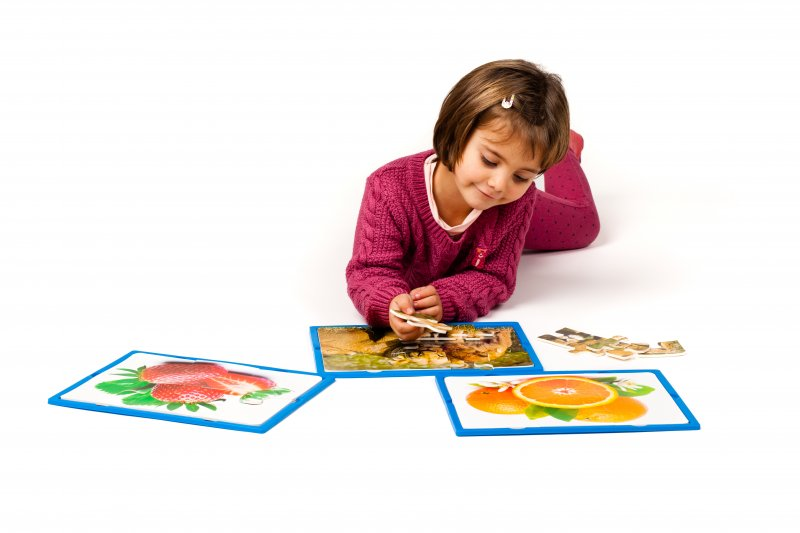 42106 SET OF 3 SOFT PUZZLES - HOLIDAYS - 15 pieces 42104 em