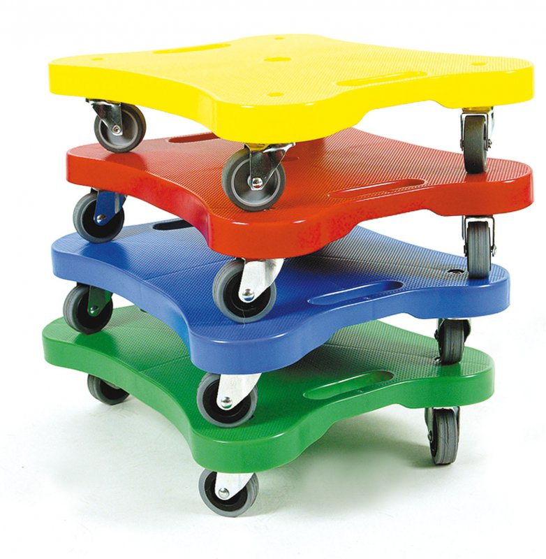 42908 SET OF 4 ROLLERBOARDS ASSORTED