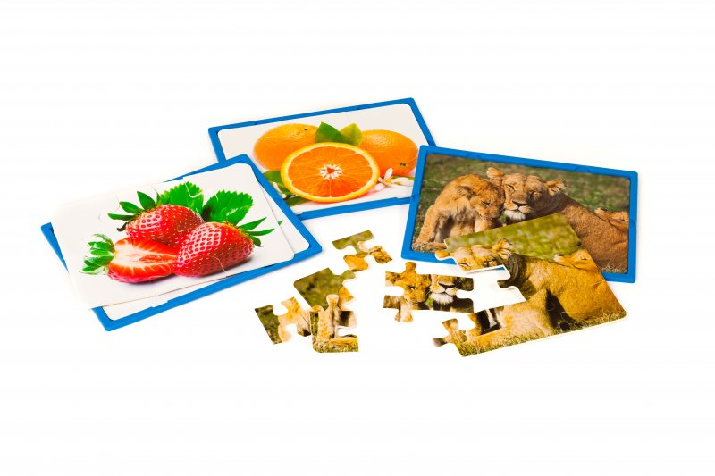 42106 SET OF 3 SOFT PUZZLES - HOLIDAYS - 15 pieces soft puzzles